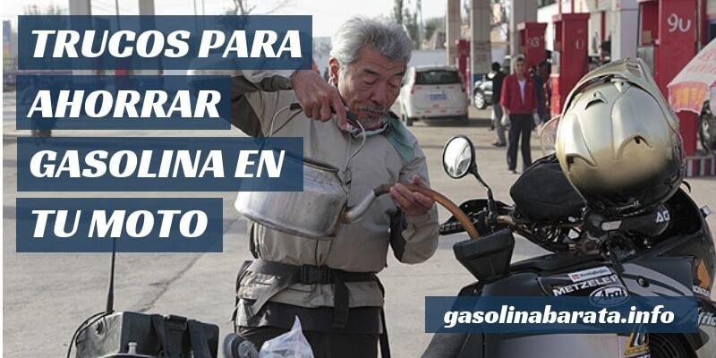 Cómo ahorrar gasolina en moto