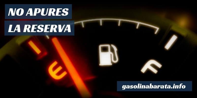 Gastar menos combustible
